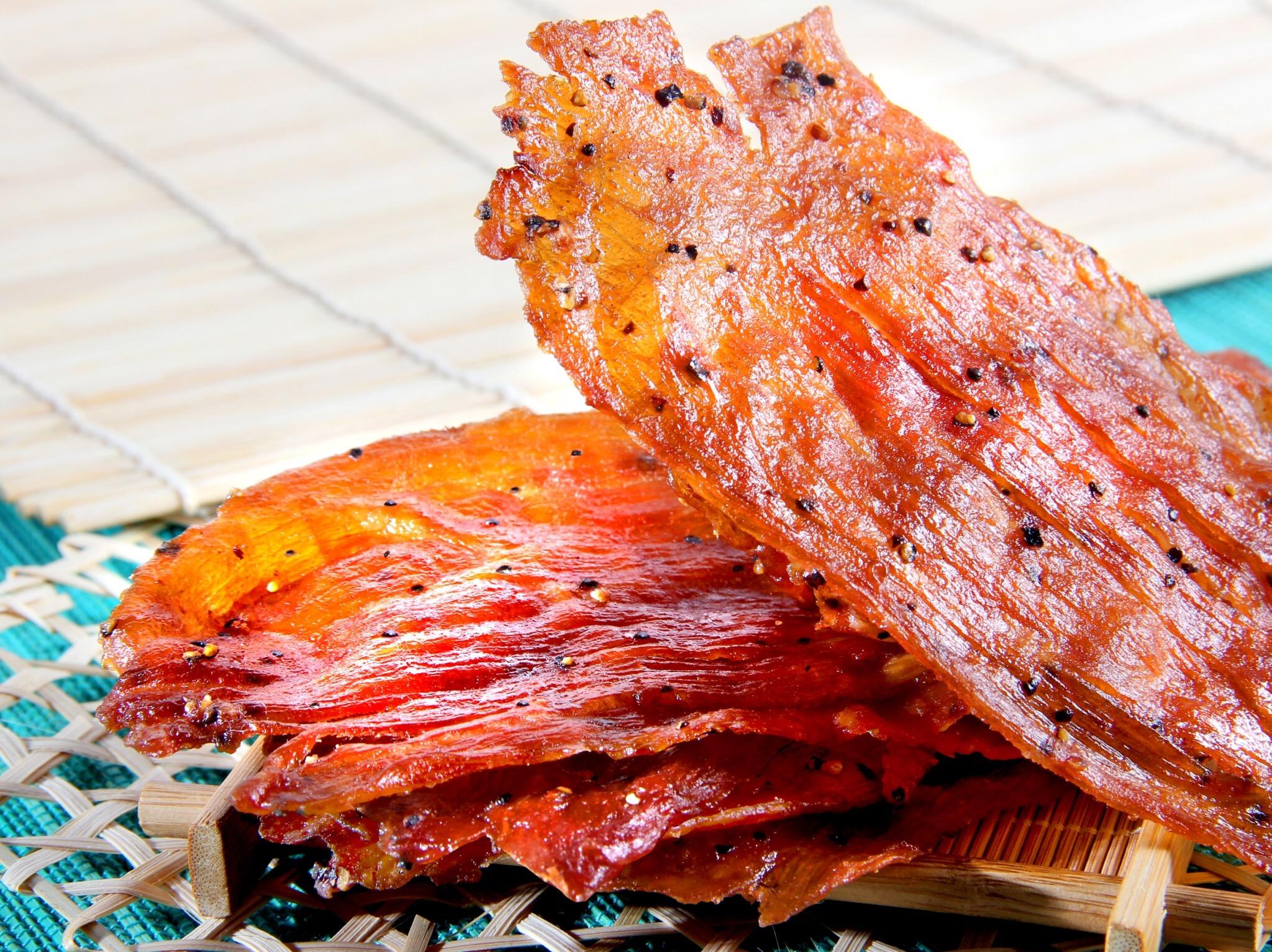 黑胡椒豬肉紙